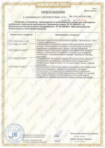 """Разрешительные документы на аппарат """"ВитаСоль"""""""