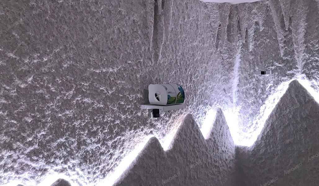 Соляная комната в банном комплексе, Чехов