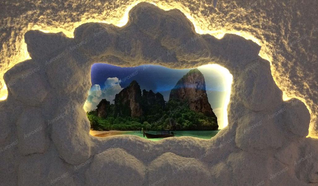 соляная пещера в СПА-салоне «Ива», Старый Оскол