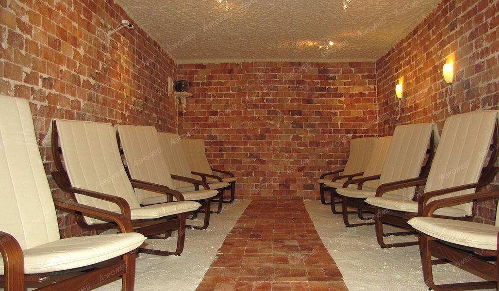 Соляная комната в Санатории «Иншинка», Тула