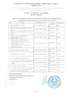 Разрешительные документы на Аппарат Сухой Солевой Аэрозольтерапии АСА 6